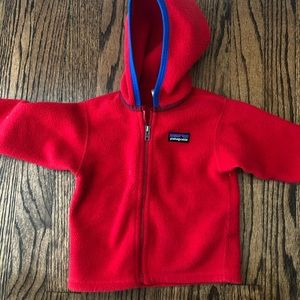 Patagonia baby synchilla fleece size 6 months